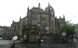 Edinburgh - katedrála Sv. Jilji na Royal Mile
