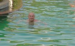 Ranohira - hotel Orchidee - v bazénu