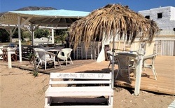 Marabou Beach Bar pri Chrisi Akti