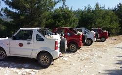 Thassos - Jeepama do hor