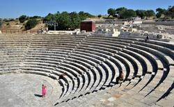 Starodavne divadlo Kourion