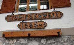 Ledová jeskyně Eisriesenwelt - lanovka - horní stanice