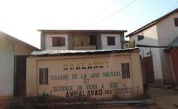 Ambalavao - Ateliér Soalandy na zpracování hedvábí