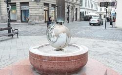 Gyor - fontána