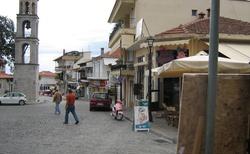 Městečko Litochoro
