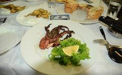 A chobotnička na večeři