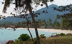 Jedna z pláží na ostrově