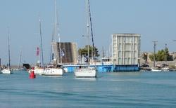 Sivota - lodní kanál
