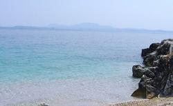 pláž v Kaminaki