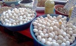 Vajíčka na trhu