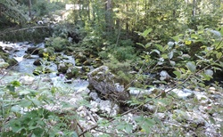 Golling - vstup ke Gollinger Wasserfall