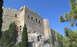 Hrad v Lindosu-byzantsko-johanitská pevnost