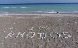 Pláž u našeho hotelu - Ialyssos / Rhodos