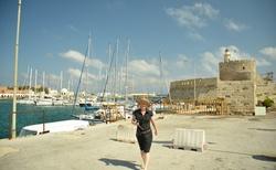 Naděnka a přístav