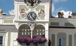 Gmunden - Radnice na Rathausplatz