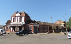 Antsirabe - vlakové nádraží