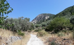 Sivros - cesta do hor