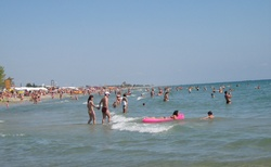 Pláž v Katerini Parilia