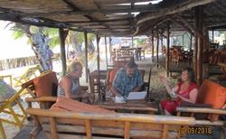 Ifaty - Villa Maroloko - siesta po obědě