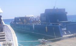 Egypt Hurghada výlet ponorkou do hlubin moře srpen 2012