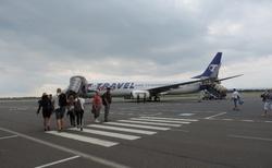 Cesta na Thassos - letiště Brno