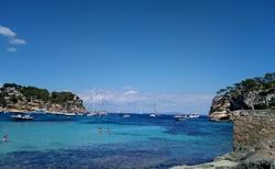 náhodně objevená pláž za Palma de Mallorca