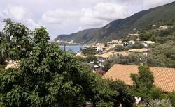Výhled z hotelu Kalypso