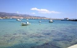 Z pristvu Antiparos na dohlad Paros