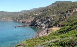 Záliv u Capo Marargiu
