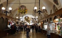 Krakov - Rynek glowny - Sukiennice