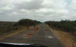 Cesta z Andranovory do Toliary - oprava silnice