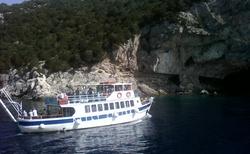 Jeskyně na ostrově Meganisi