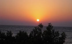 svítání slunce