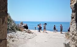Podchodom ku Aphrodite Beach