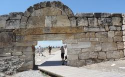 Pamukkale vstupní brána