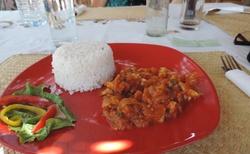 Oběd v hotelu Tiana - Ihosy
