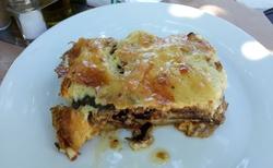 Dragano - taverna Sesoula - moussaka