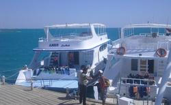 v přístavu v Hurghadě