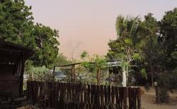 Ifaty - Villa Maroloko - před písečnou bouří