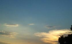 Neos Marmaras - západ slunce