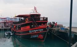 Loď, kterou se dostanete na výlety