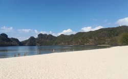 Pláž Tanjung Rhu