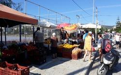 Trh v Lefkádě