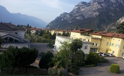 Riva del Garda - pohled z ubytování Dream of the Lake