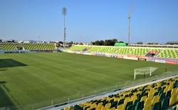 Na stadione AEK v Larnake
