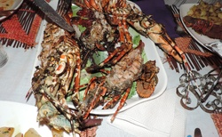 Ifaty - Restaurace Chez Daniel Piroguier - večeře