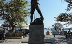 Rhodos - socha Alexandra Diakos