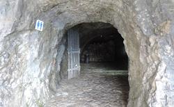Ledová jeskyně Eisriesenwelt - cesta k jeskyni