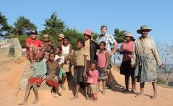 Ambohimahasoa - s místními