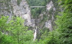 Marienbrücke u zámku Neuschweinstein